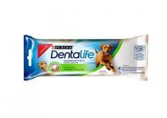 Лакомство для собак крупных пород, Purina DentaLife Large Single, 12х35,5 г