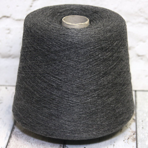 Кашемир 100% RICIGNOLO 1928 / CASHMERE 2/28 серый меланж