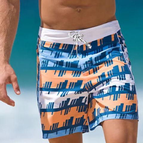 Мужские плавательные шорты Aussiebum Beach Shorts Geometrical Orange