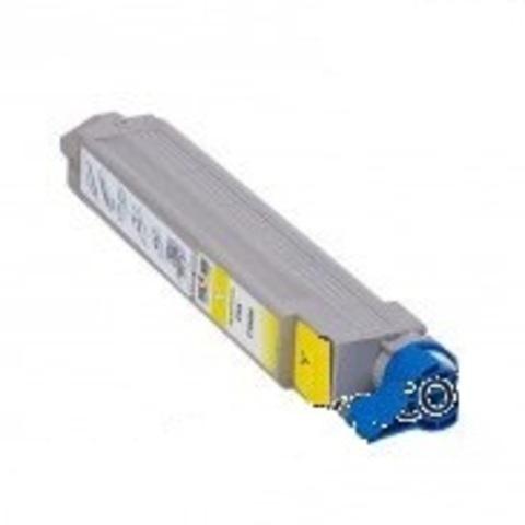 Тонер картрижд для Oki C9600 Yellow 42918901