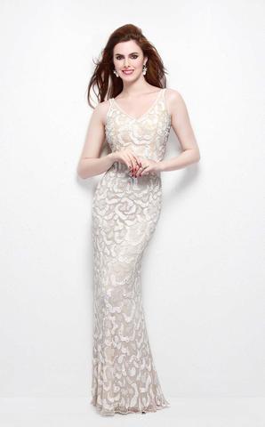 Marsela 2488 Платье для особого случая, расшитое пайетками, элегантный шлейф