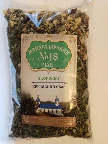 Чай Монастырский №18 здоровье, 100 гр. (Крымский сбор)