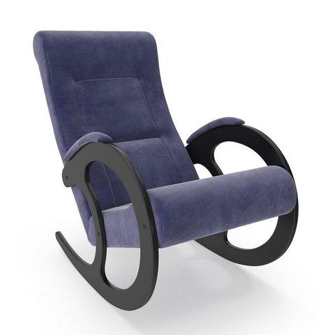 Кресло-качалка Комфорт Модель 3 венге/Verona Denim Blue