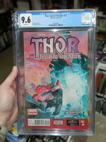 CGC Thor: God of Thunder #21. Состояние 9,6