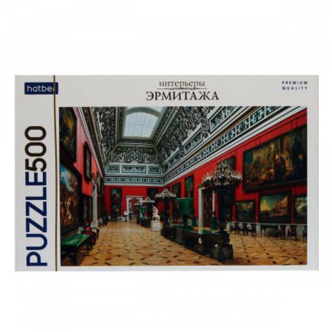 Пазл «Большой Итальянский просвет, Государственный Эрмитаж» 500 эл. 830*580 мм Premium Hatber