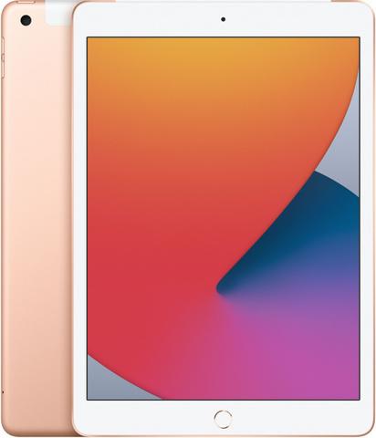 Планшет Apple iPad 10.2 Wi-Fi + Cellular 128Gb 2020 (Золотой)