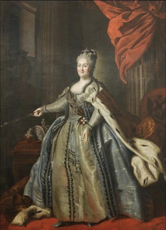 Полтина 1777 года. Для дворцового обращения. Екатерина II R