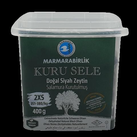 Маслины вяленые с косточкой без рассола (2XS) MARMARABIRLIK, 400 гр