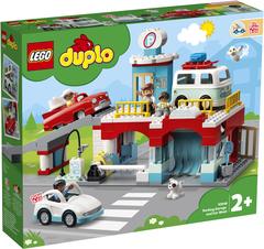 Lego Duplo Parking Garage and Car Wash