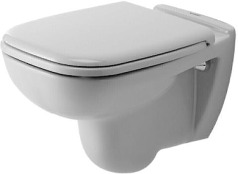Унитаз подвесной Duravit D-code с крышкой-сиденьем м/л