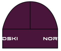 Лыжная шапка Nordski Warm Purple