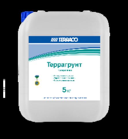 Terraco Terragrunt Clear/Террако Террагрунт Прозрачный грунтовка проникающая для наружных работ