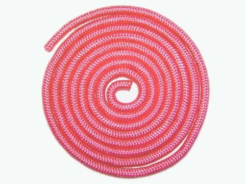 Скакалка гимнастическая, 3 метра. Цвет розовый. :(TS-01):
