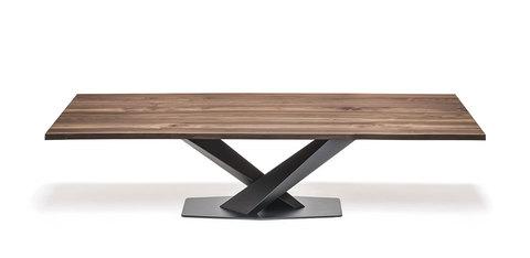 Обеденный стол stratos wood, Италия