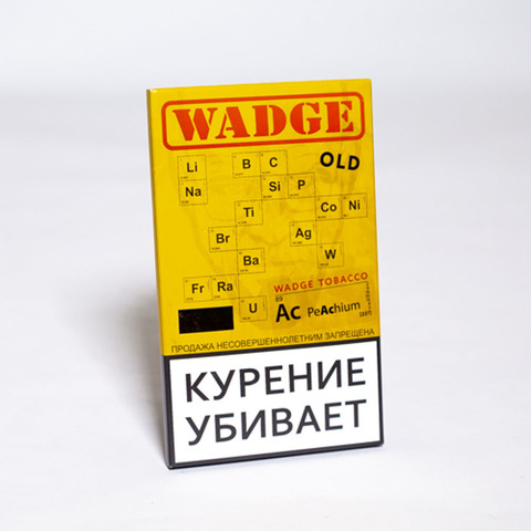 Табак WADGE OLD 100gr PEACHIUM