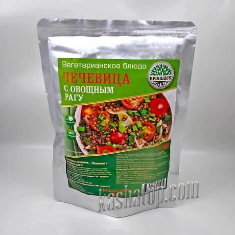 Чечевица с овощным рагу 'Кронидов', упаковка 300г