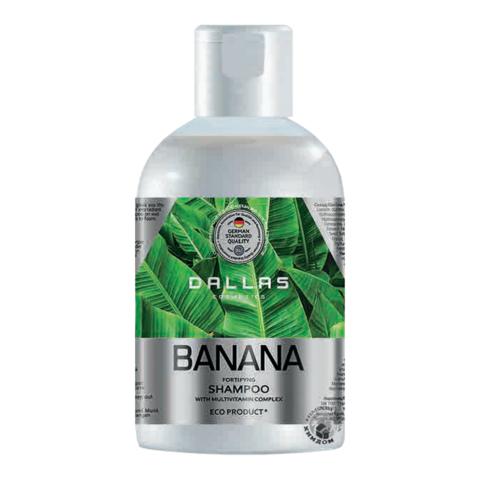 Dallas Шампунь для волос BANANA укрепляющий с Мультивит.комплексом, 500 мл.