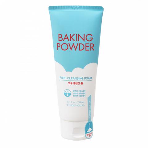 Etude House Очищающая пенка для умывания 3 в 1 с содой Baking Powder Pore Cleansing Foam 160 мл.