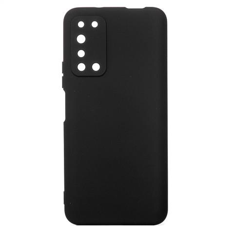 Чехол для Huawei Honor X10 Софт тач мягкий эффект | микрофибра черный