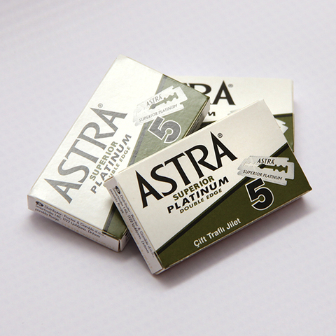 Сменные лезвия Astra Superior Green