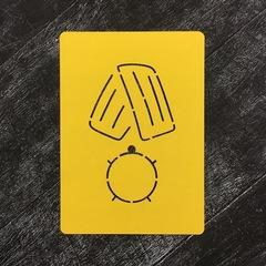 Медаль №5 круглая