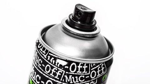 Картинка очиститель Muc-off для цепи 400мл (аэрозоль)  - 4