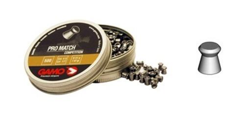 Пули для пневматики Gamo Pro-Match, 4,5 мм. (500 шт.)