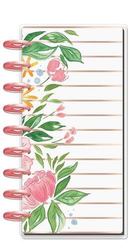 Блокнот Skinny Classic Happy Notes™ - Detailed Florals- 14х24 см-60л