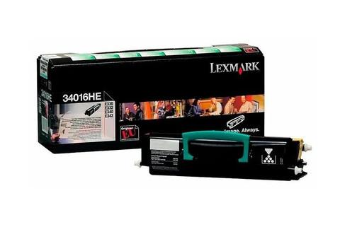 Оригинальный картридж Lexmark 34016HE черный