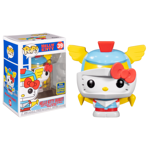 Funko POP! SDCC 2020: Hello Kitty (Robot) 39 (Exc)