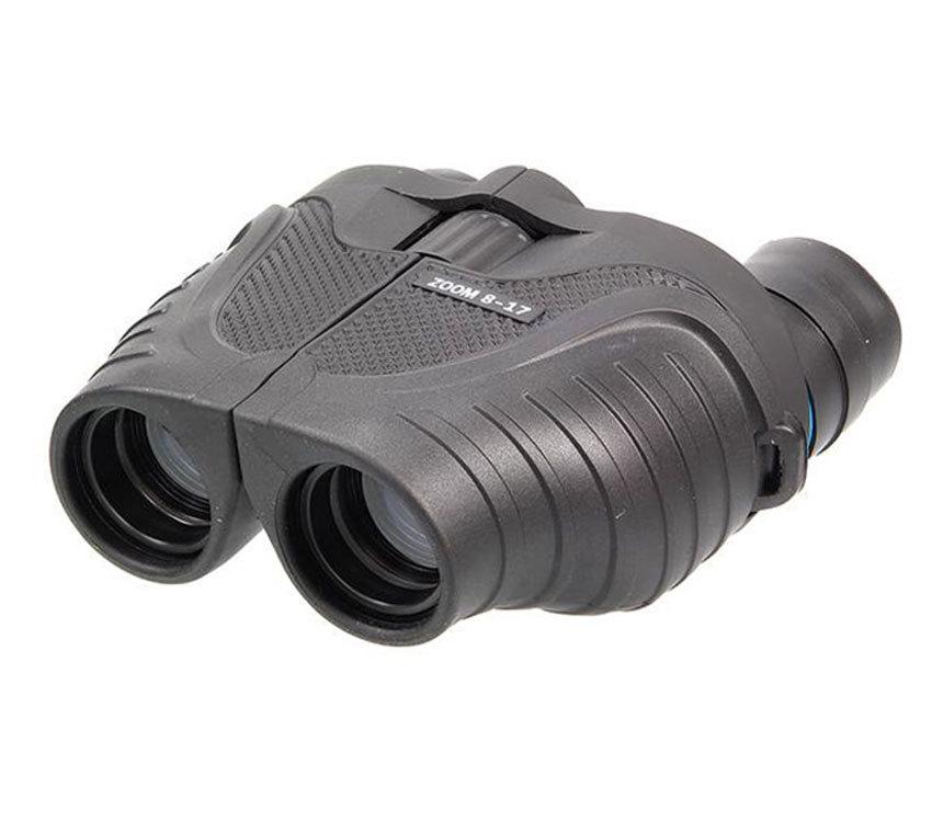 Бинокль Veber Sport Ultra БН 8-17x25 black - фото 1