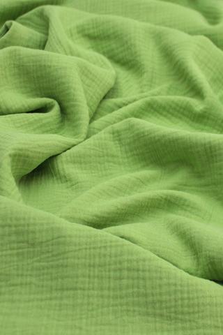 Ткань муслиновая, травяной
