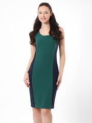 P309-48 платье зелено-синее