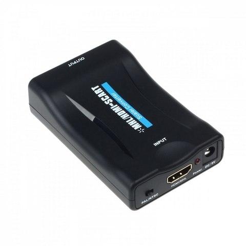 Конвертер HDMI to SCART преобразователь, переходник