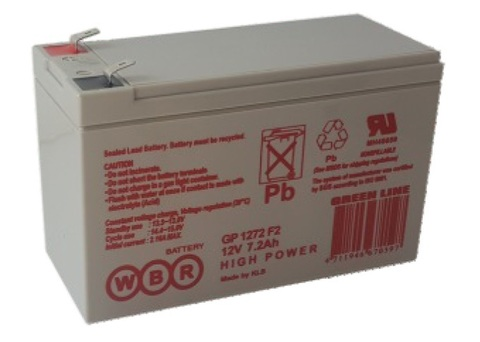 Аккумулятор WBR 7.2 А/ч GP 1272F2
