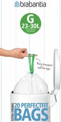 Мешки для мусора PerfectFit, размер G (23-30 л), рулон, 20 шт.