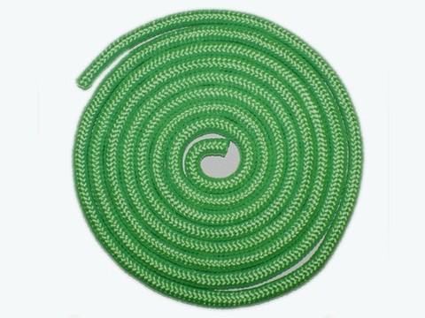 Скакалка гимнастическая, 3 метра. Цвет зелёный. :(TS-01):