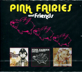The Pink Fairies, The Deviants, Andy Colquhoun / Chinese Cowboys - Dr. Crow - Pick-Up The Phone America! (3CD)