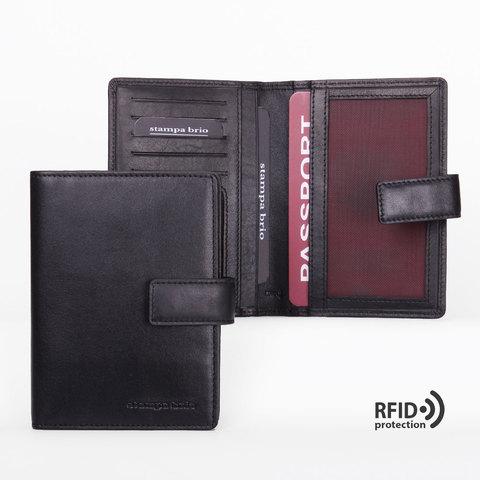 216 R - Обложка для паспорта с RFID защитой
