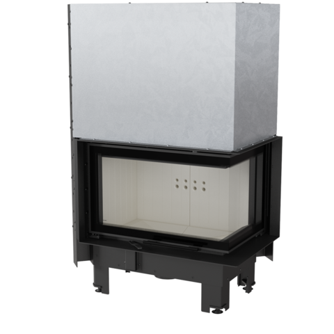Каминная топкаKratki MBM/P/BS/G/SG (гнутое стекло) (10 кВт)