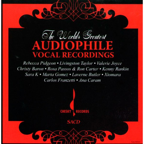 Inakustik CD, SACD, The World's Greatest Audiophile Vocal Recordings, 030323