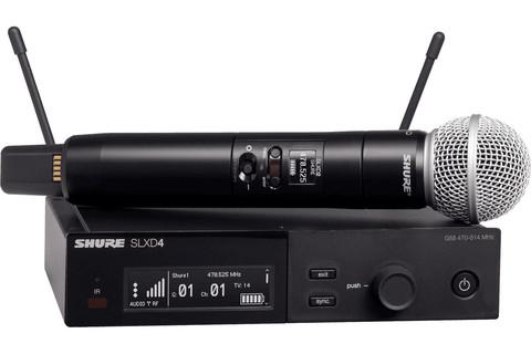 SHURE SLXD24E / SM58 вокальна радіосистема