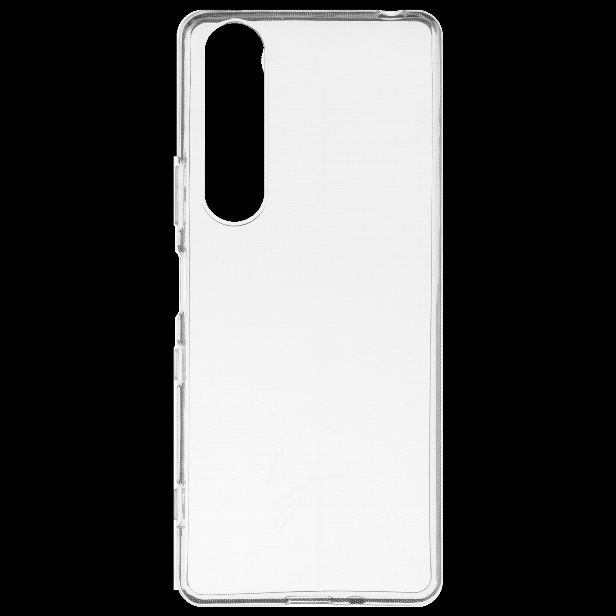 Накладка силиконовая Brosco для Xperia 1 III, прозрачная