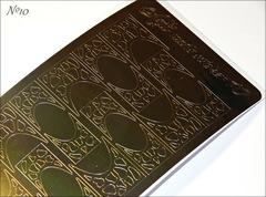 Металлизированные наклейки Arti nails Stiker цвет золото №10