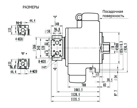Гидромотор IPM12-18500