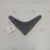 Шарф-манишка из шерсти мериноса (серый/синий)