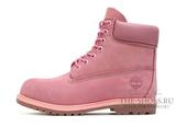 Ботинки Timberland 10061 Waterproof Pink Женские