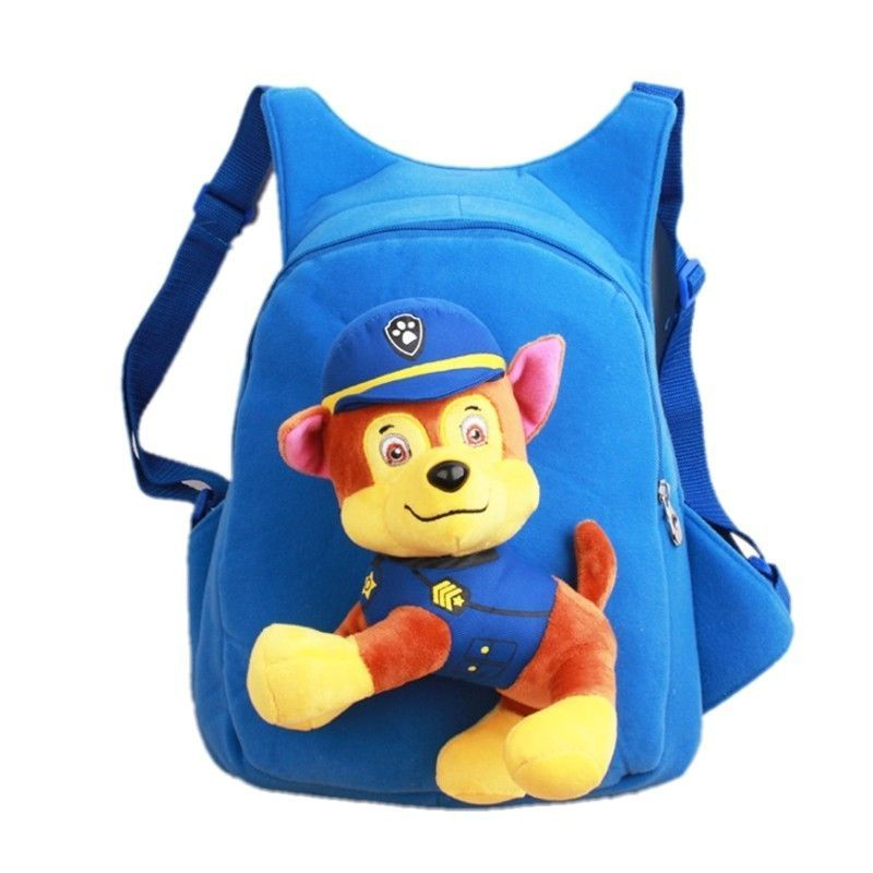 Щенки спасатели детский рюкзак с игрушкой