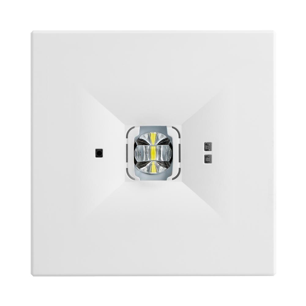 Светильники аварийного освещения помещений с высокими потолками ONTEC D F1 – вид спереди