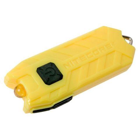 Фонарь брелок Nitecore Tube желтый лам.:светодиод.x1 (16448)